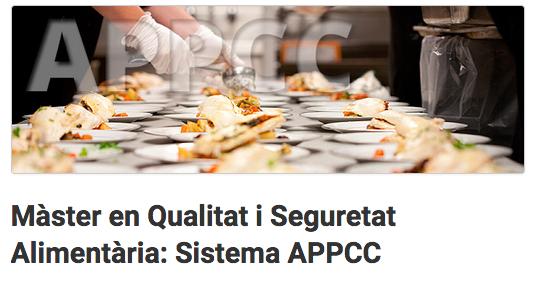 Màster APPCC Seguretat Alimentaria